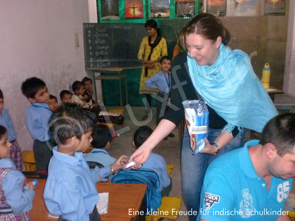 A little joy for Indian school children
